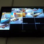 Hasil Gambar Monitor cctv
