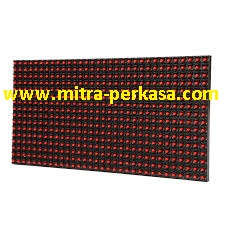 Panel Running Text Merah Outdoor