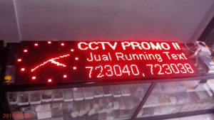 Jual Running Text di Malang