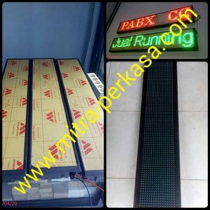 Runningtext indoor / outdoor merah P10